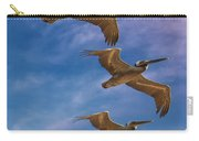 The Flight Of The Pelican Carry-all Pouch