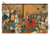 The Flight Out Of Egypt Carry-all Pouch