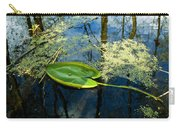 The Floating Leaf Of A Water Lily Carry-all Pouch