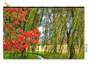 The Flow Of Autumn Carry-all Pouch