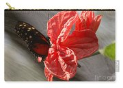 The Flower And The Butterfly Carry-all Pouch