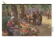 The Flower Seller Carry-all Pouch