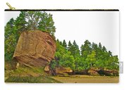 The Flowerpots At Hopewell Rocks On Bay Of Fundy-new Brunswick Carry-all Pouch