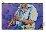 The Flute Player Carry-all Pouch