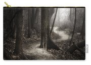 The Foggy Path Carry-all Pouch by Scott Norris
