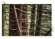 The Forest Combed By The Wind In The Lake Carry-all Pouch