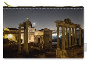 The Forum Temples At Night Carry-all Pouch