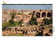 The Forum From The Palatine Carry-all Pouch