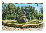 The Fountain - Iconic Fountain At The Huntington Library. Carry-all Pouch