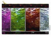 The Four Seasons- Featured In Comfortable Art And Newbies Groups Carry-all Pouch