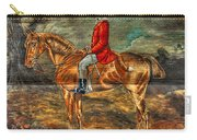 The Fox Hunt With Light Antique Store Mural Griffin Georgia Art Carry-all Pouch
