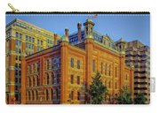 The Franklin School - Washington Dc Carry-all Pouch by Mountain Dreams
