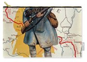 The French Infantry In The Battle Carry-all Pouch