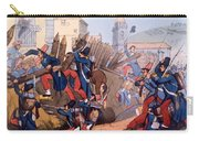 The French Legion Storming A Carlist Carry-all Pouch