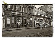 The French Quarter Sepia Carry-all Pouch