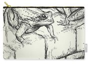 The Frogs And The Well Carry-all Pouch