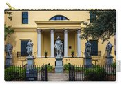 The Front Of The Telfair Museum Of Art Carry-all Pouch