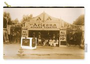 The Gamblers 1914 Lubin The Arizona Summer Theater Tent Tucson Arizona 1914-2008 Carry-all Pouch