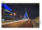 The Garden And The Zakim Carry-all Pouch by Joann Vitali