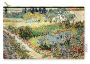 The Garden At Arles, 1888 Carry-all Pouch