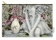 The Garden Fairy Carry-all Pouch by Peggy Hughes