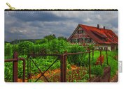 The Garden Gate Carry-all Pouch by Debra and Dave Vanderlaan
