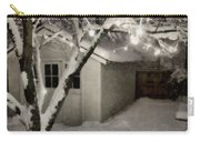 The Garden Sleeps Carry-all Pouch by Michelle Calkins