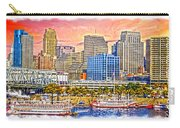 The Garish City Cincinnati Carry-all Pouch