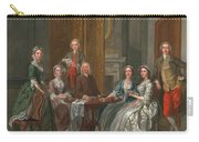 The Gascoigne Family, C.1740 Carry-all Pouch