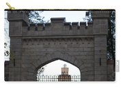 The Gates Leading Into New Sigulda Castle Carry-all Pouch