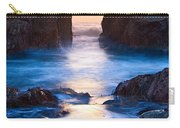 The Gateway - Sunset On Arch Rock In Pfeiffer Beach Big Sur In California. Carry-all Pouch by Jamie Pham