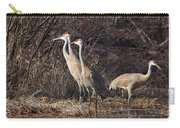 The Gathering...sandhill Cranes Carry-all Pouch