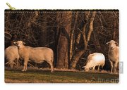 The Gazing And Grazing Sheep Carry-all Pouch