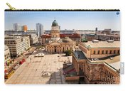 The Gendarmenmarkt And German Cathedral In Berlin Carry-all Pouch