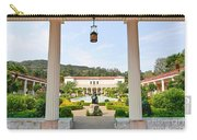 The Getty Villa Main Courtyard View From Covered Walkway. Carry-all Pouch