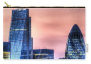 The Gherkin And The Cheesgrater London Carry-all Pouch