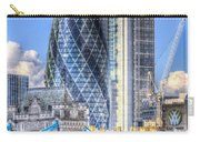 The Gherkin And Tower Bridge Carry-all Pouch