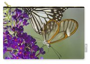 The Glasswing And A Friend  Carry-all Pouch