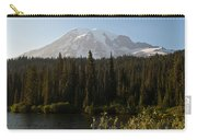 The Glow Of Mount Rainier Carry-all Pouch