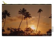 The Glow Of Sunset Carry-all Pouch