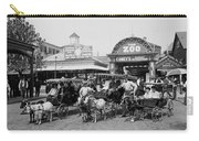 The Goat Carriages Coney Island 1900 Carry-all Pouch