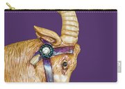 The Goat Who Likes Purple Carry-all Pouch