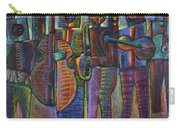 The Gods Of Music Come To New York Carry-all Pouch