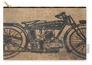 The Gold Medal Motorcycle 1925 Carry-all Pouch