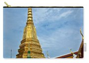 The Golden Chedis At Grand Palace Of Thailand In Bangkok Carry-all Pouch