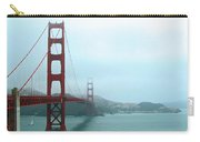 The Golden Gate Bridge And San Francisco Bay Carry-all Pouch