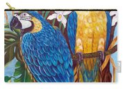 The Golden Macaw Carry-all Pouch