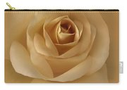 The Golden Rose Flower Carry-all Pouch by Jennie Marie Schell