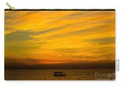 The Golden Sky That Mesmerize  Carry-all Pouch