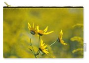 The Golden Wildflowers Carry-all Pouch
